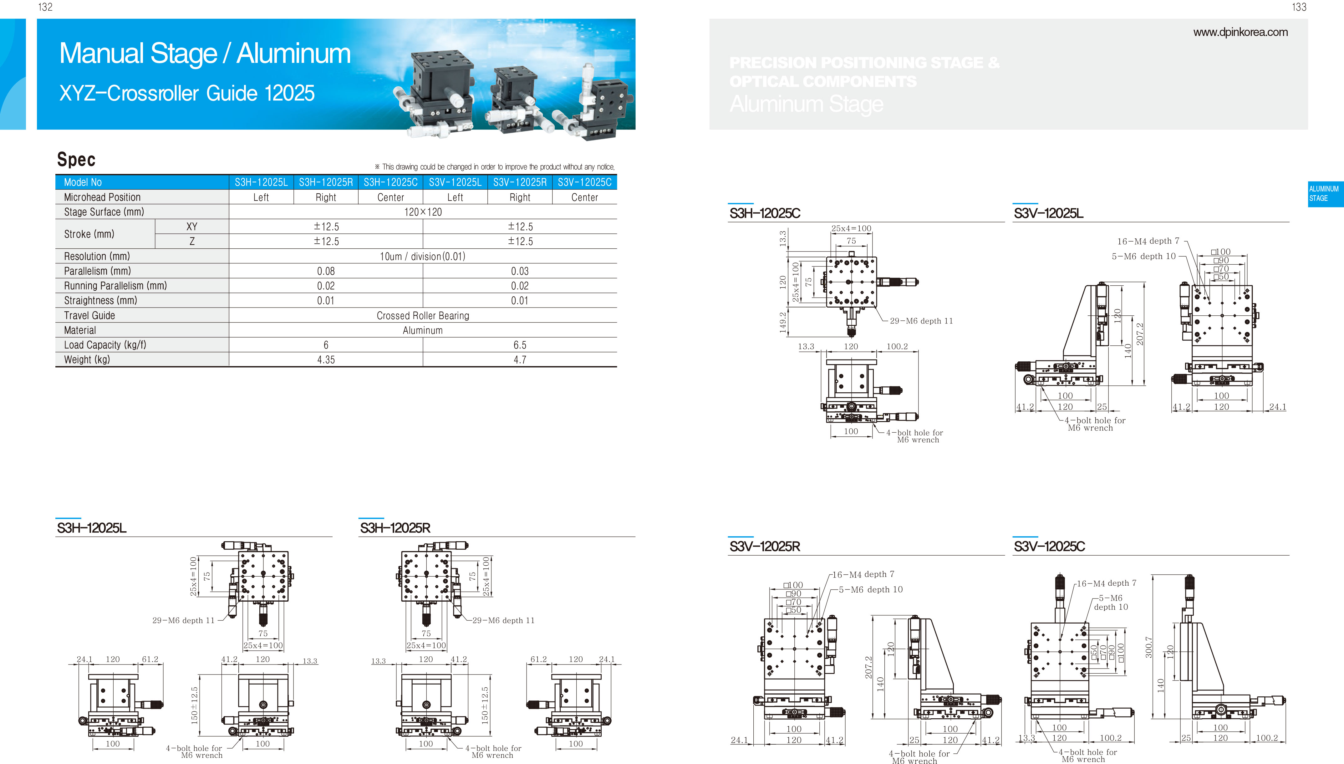 DPIN-Aluminum-精密滑台-22