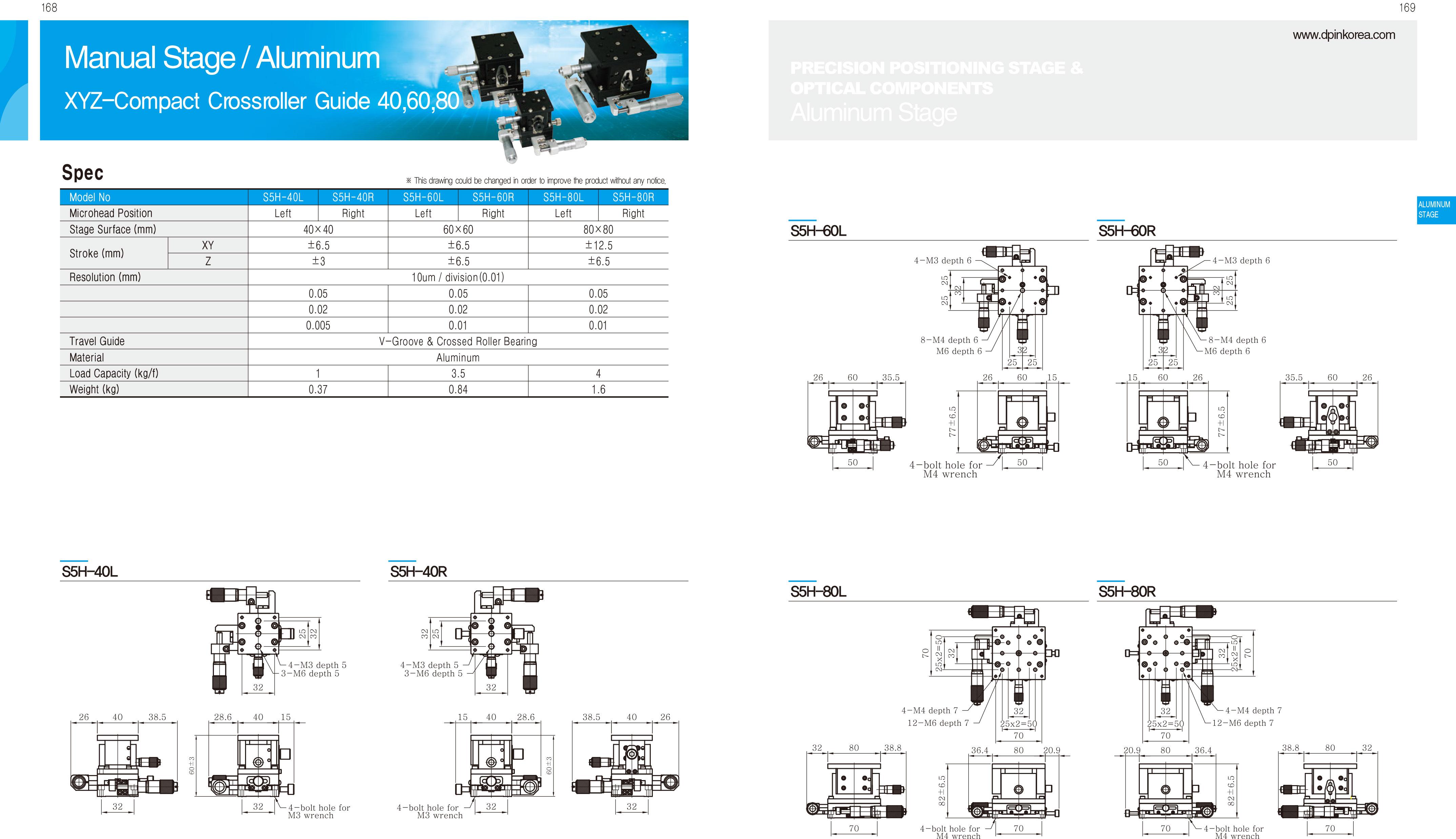 DPIN-Aluminum-精密滑台-40