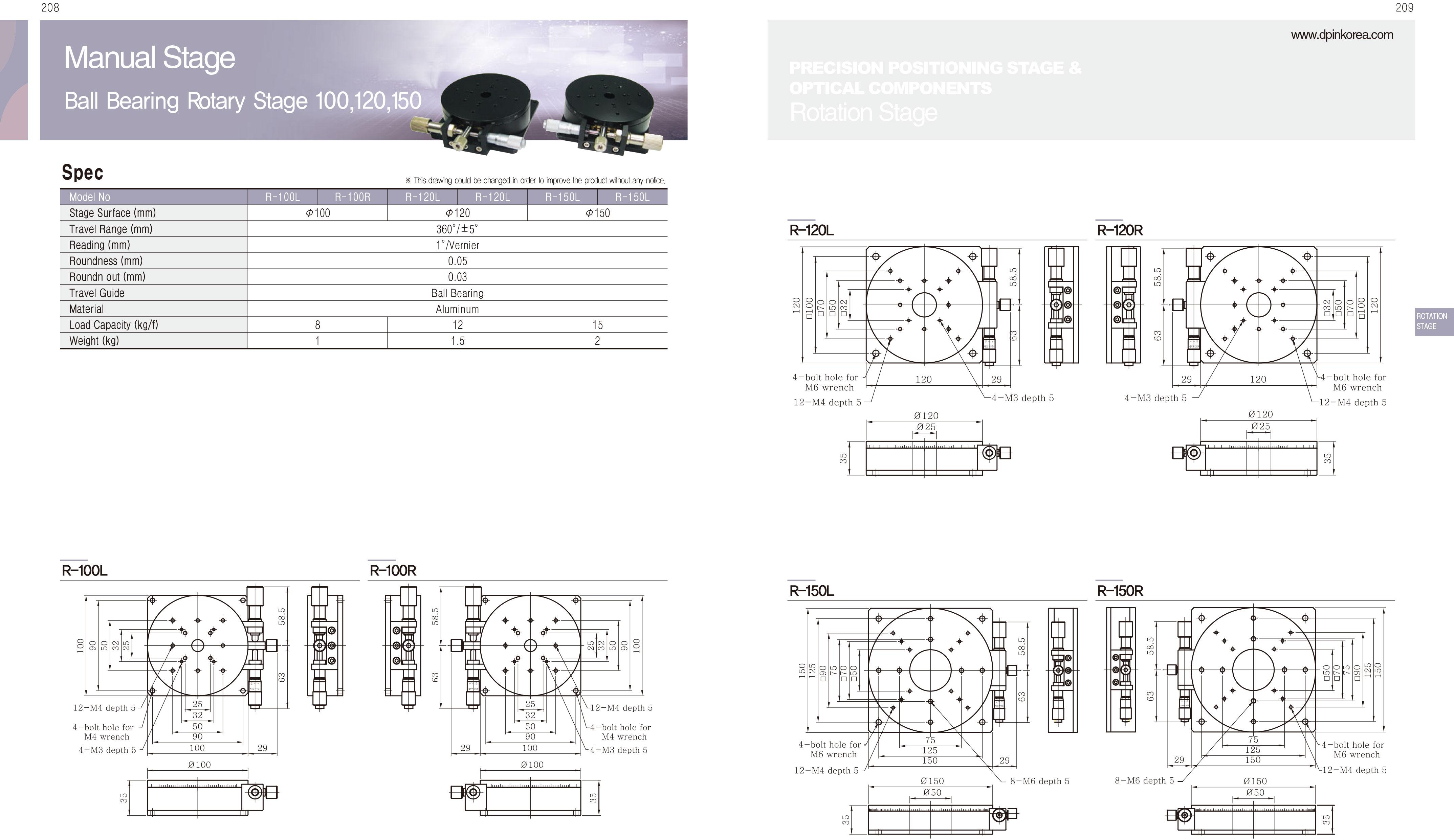DPIN-Rotation-精密旋轉滑台-3